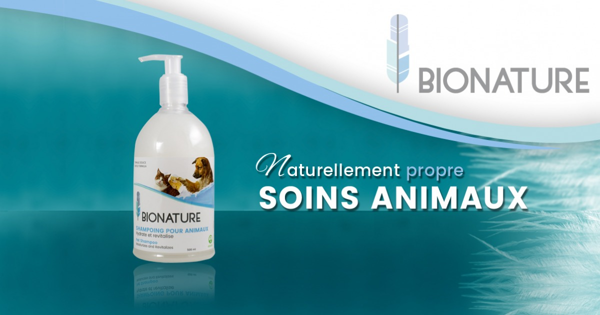 Shampoing pour animaux
